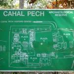 Map of Cahal Pech.