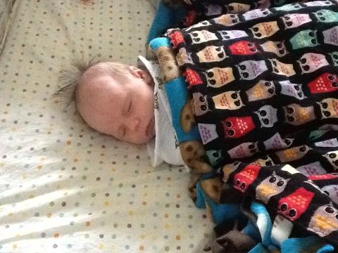 5 Weeks Old, Great Night's Sleep